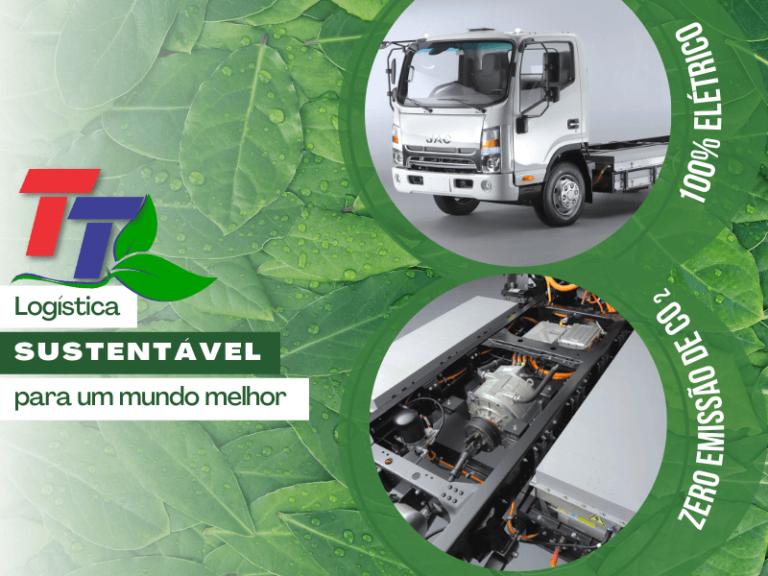 Transporte com veículos 100% elétricos